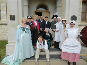 NHS Volunteers in Costume