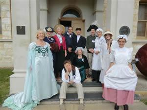 NHS Volunteers in Costume