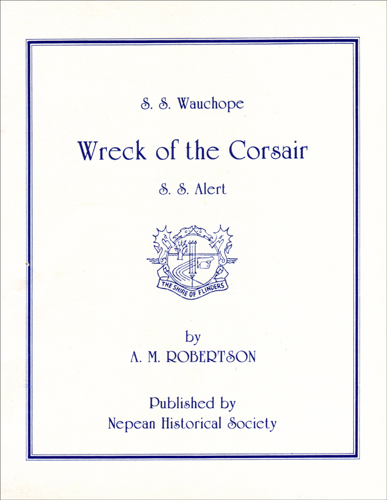 wreck of the corsair