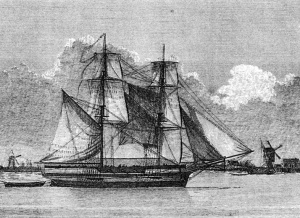HMS Lady Nelson Courtesy Mitchell Library