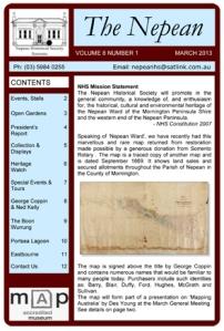 Mar 2013 Nepean Vol 8 No 1