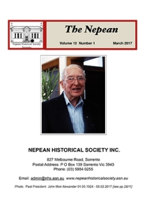 Nepean Vol 12 No 1