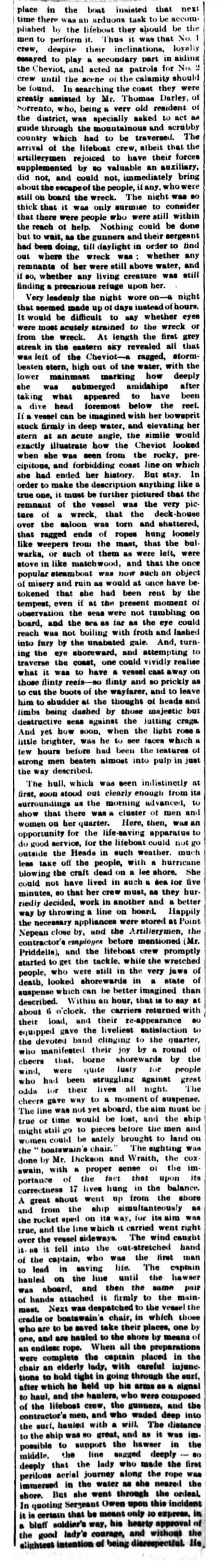 news - Cheviot 1848 col 3