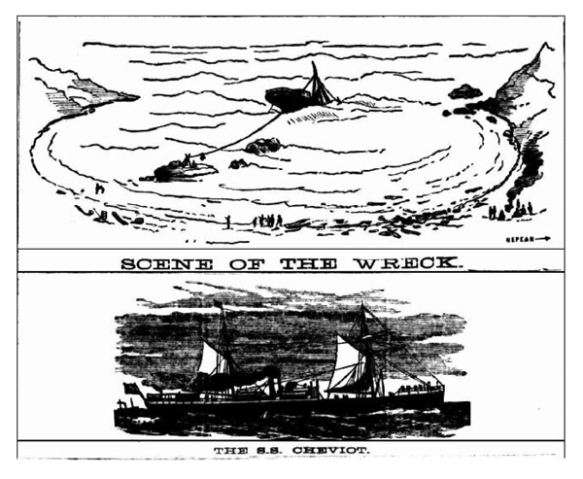 Cheviot, from The Argus  21st Oct 1887