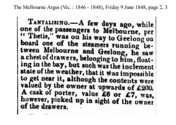 The Melbourne Argus (Vic. : 1846 - 1848), Friday 9 June 1848, pa