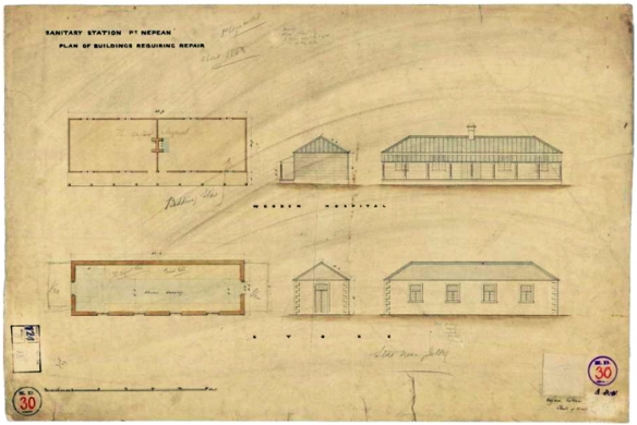 Plans of Buildings to Repair 1856