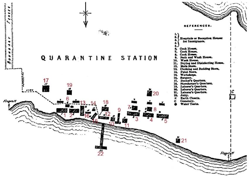 Plan of Station 1875