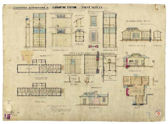 Plans for Alterations 1884