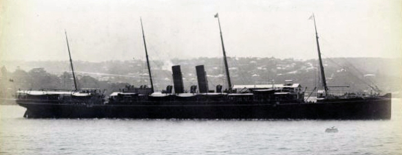 RMS Himalaya