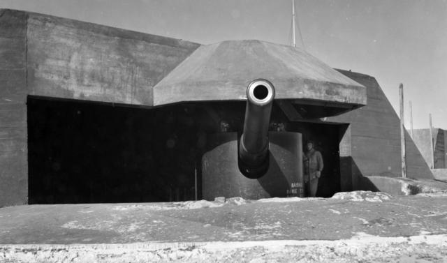 BL 6 inch gun Mk VII c1943
