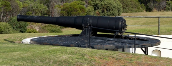 disappearing gun queenscliff