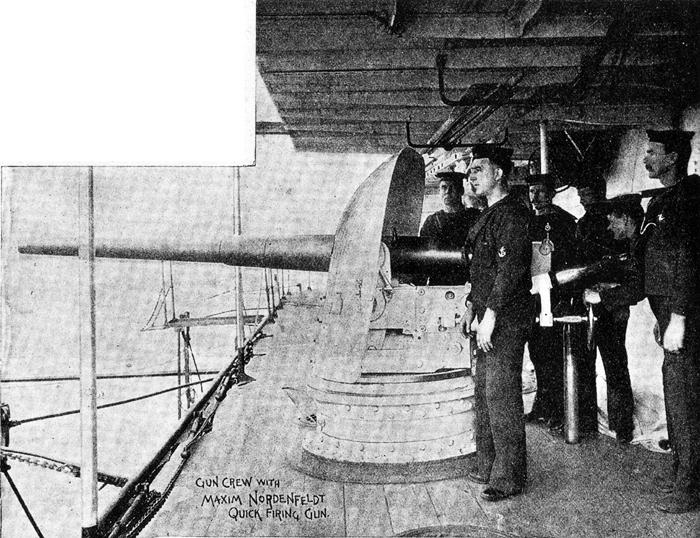 QF 14 pounder HMVS Cerberus 1900