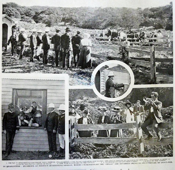 Quarantine of the Otway 1910