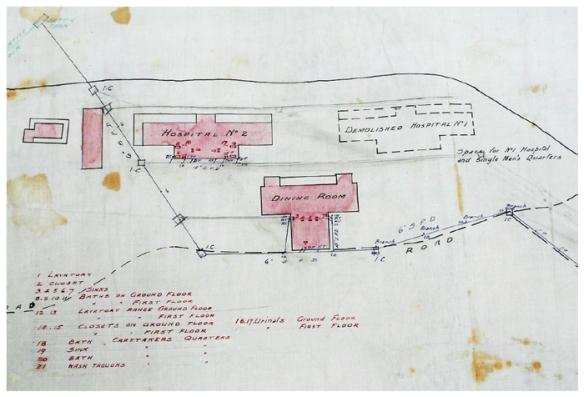 Sewerage Plan 1915