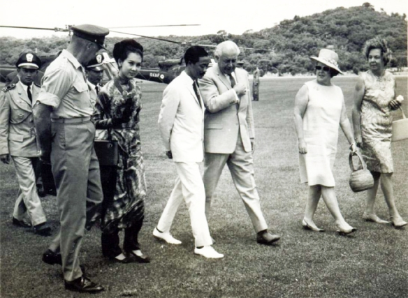 Visit of Air Vice-Marshal Nguyen Ky 1967