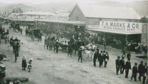 William Croome's Funeral August 1902
