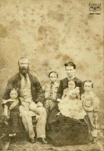 Tim and Ann Sullivan and their children