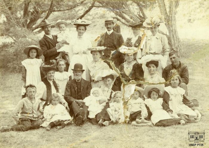 Croad Stringer Mathieson Spunner Families