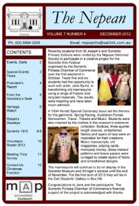 The Nepean Dec 2012 Vol 7 No 4