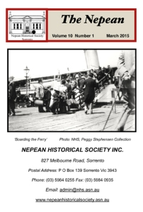The Nepean Mar 2015 Vol 10 No 1