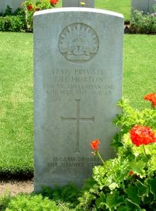 Horton Headstone