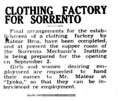 Frankston Standard 22nd Aug 1946