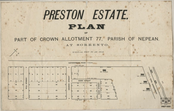 The Preston Estate c1917