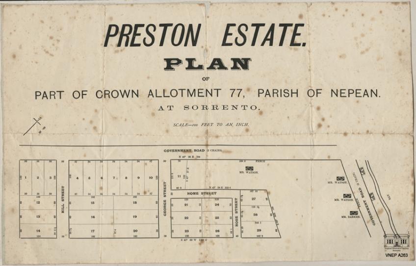 The Preston Estate c1917