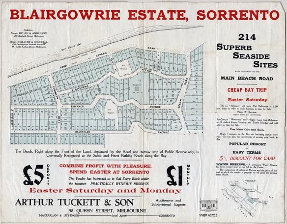 VNEP A272.2 Blairgowrie Estate c. 1923