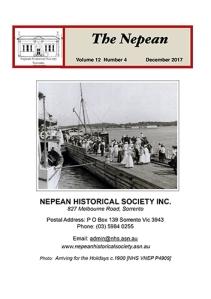 The Nepean Vol 12 No 4 Dec 2017