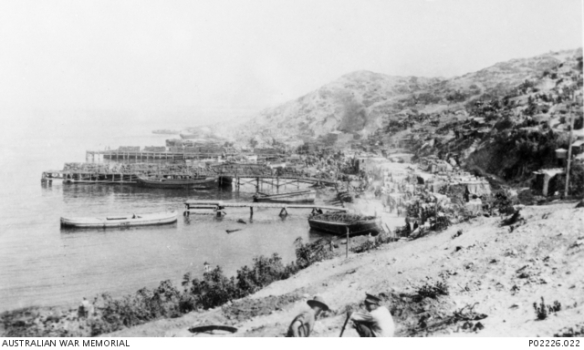 ANZAC Cove c Late 1915