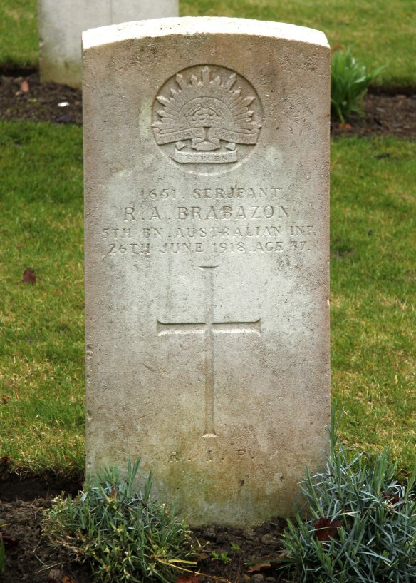 Brabazon Headstone