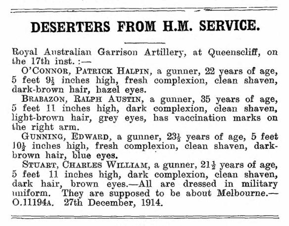 Police Gazette Dec 31 1914