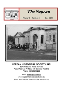 The Nepean Vol 13 No 2 June 2018