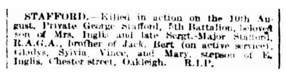 stafford dth age 31 aug 1918
